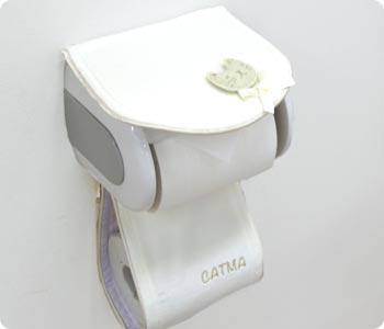 キャットマ5 トイレットペーパーホルダーカバー